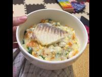 1y2m寶寶副食品高鈣魚蛋粥