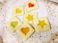 彩色糖玻璃餅乾