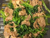 💛養氣補身💛沙爹羊肉炒菠菜