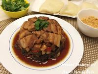 梅干扣肉+刈包