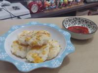 香煎粟米墨魚餅