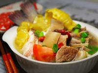 鱸魚羊肉煲湯