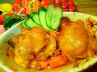 蕃茄蜜汁烤雞腿【蕃茄醬懶人料理】