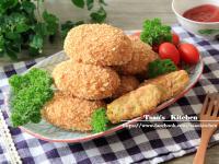 玉米鮭魚黃金地瓜餅【全聯24節氣料理】