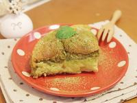 風靡日本的「魔法蛋糕」抹茶口味❤