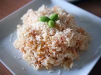 整顆番茄鮭魚炊飯(電鍋料理)│玉美