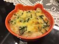 英倫鮮蝦蛤蜊鮮菇焗飯