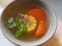 玉米魚乾排骨湯(電鍋版)