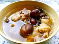紅棗香菇雞湯(電鍋版)