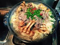 蟹粉牛肉煲