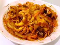 韓式辣炒小章魚🐙