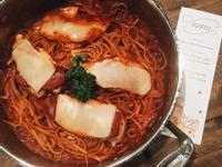 紅醬起司雞肉義大利麵