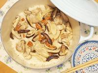 「香菇麻油雞炊飯」暖身必備料理