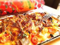 蜜汁燒肉小披薩【蕃茄醬懶人料理】