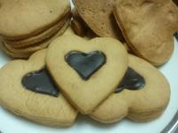 情人節♥愛心心型巧克力餅乾
