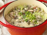 鑄鐵鍋媽媽味芋頭鮮蚵米粉湯
