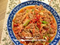 韓式辣炒豬肉제육볶음