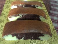 雙色海棉蛋糕(燙麵水浴法)