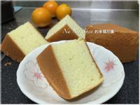 香橙戚風蛋糕