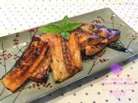 日式醬燒鮭魚骨