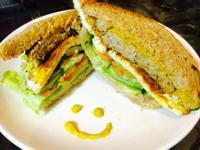 低卡經典肉排三明治