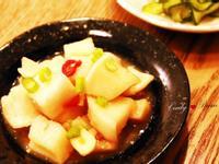 涼拌味噌白蘿蔔