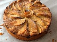太妃糖玫瑰蘋果磅蛋糕