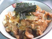 台式洋蔥肉羹蓋飯