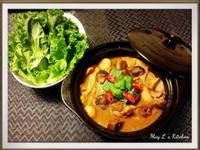 枝竹羊腩煲 Lamb Hot Pot