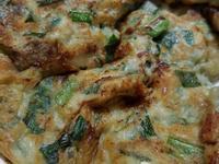 韭菜蚵仔煎餅