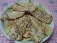 黑胡椒雞脯佐沙拉(全聯料理王大賽)
