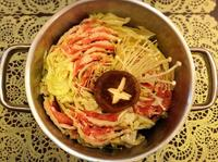 玫瑰白菜味增豚鍋