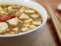 不吃辣的辣料理.麻婆豆腐
