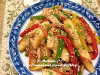 韓式醬油炒年糕/宮廷炒年糕(간장떡볶이)