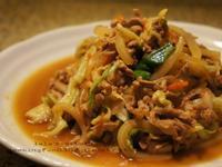 什錦野菜炒豚肉