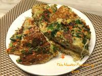 麻油蔬菜麵線煎餅