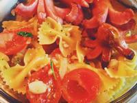 番茄蝴蝶義大利麵