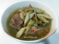 牛蒡羊肉湯
