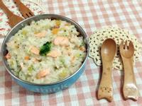 寶副食❤️綜合蔬菜鮭魚粥