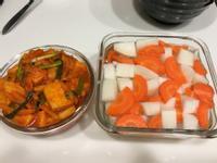 「超簡單」一次做兩款韓式蘿蔔泡菜
