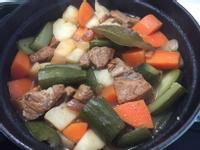 20公分鑄鐵鍋料理-馬鈴薯燉肉