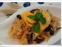 明太子蛋捲脆炒炊飯