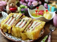 起酥火腿三明治_小七野餐趣