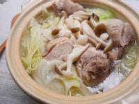 【廚男料理筆記】高麗菜雙菇雞湯