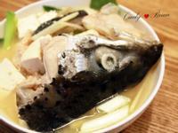 味噌豆腐魚頭湯