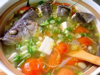 蕃茄薑絲鱸魚湯
