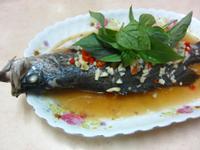 ♥我的手作料理♥ 泰式檸檬蒸魚