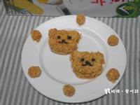 輕食料理~熊熊地瓜泥脆片【雀巢玉米脆片】