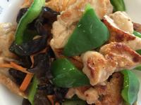 青椒炒雞胸肉片