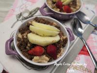 蘋果脆片燕麥 - 早餐